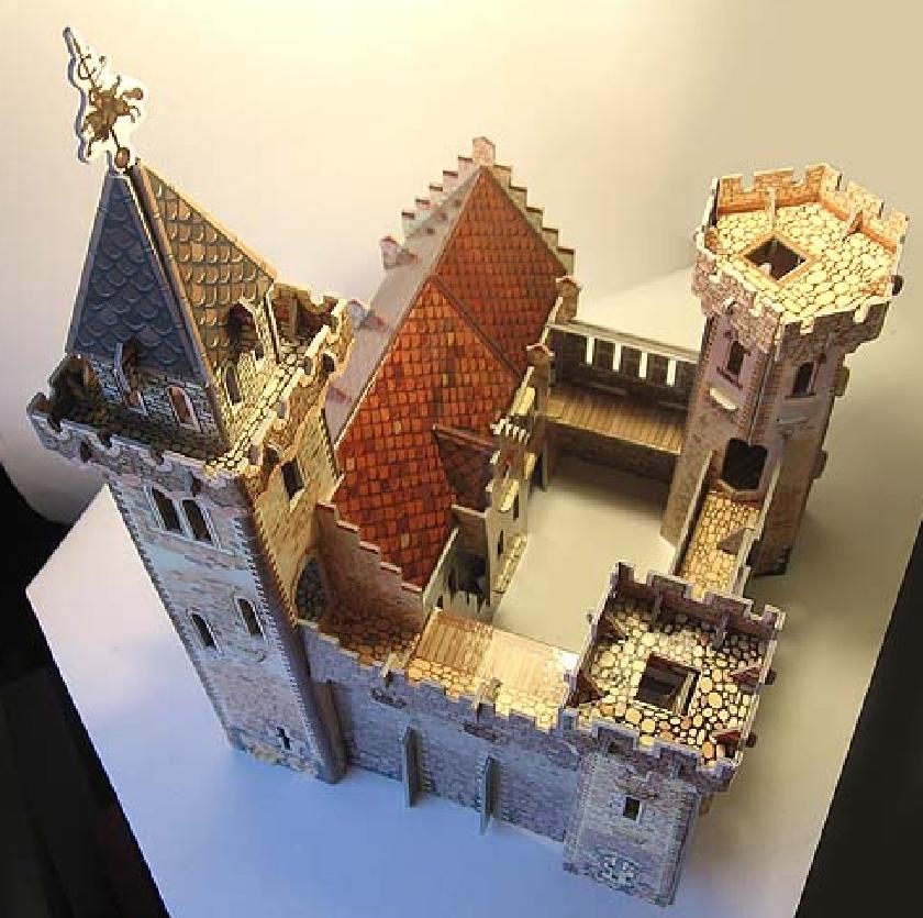 Модель замков своими руками 810